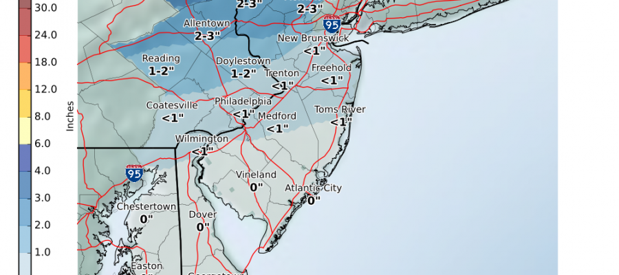 Snow Forecast Maps New Jersey New York Connecticut