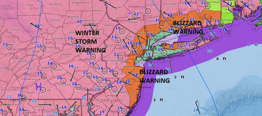 blizzard warning