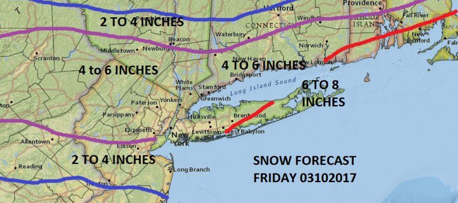 snow weather models