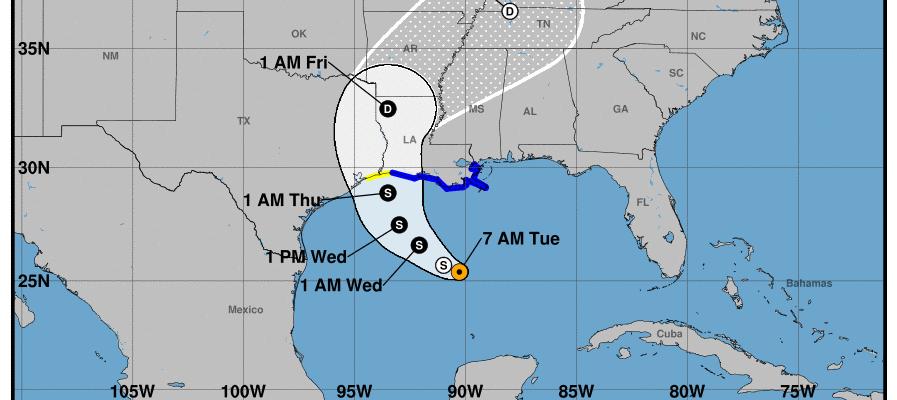 tropical storm warnings