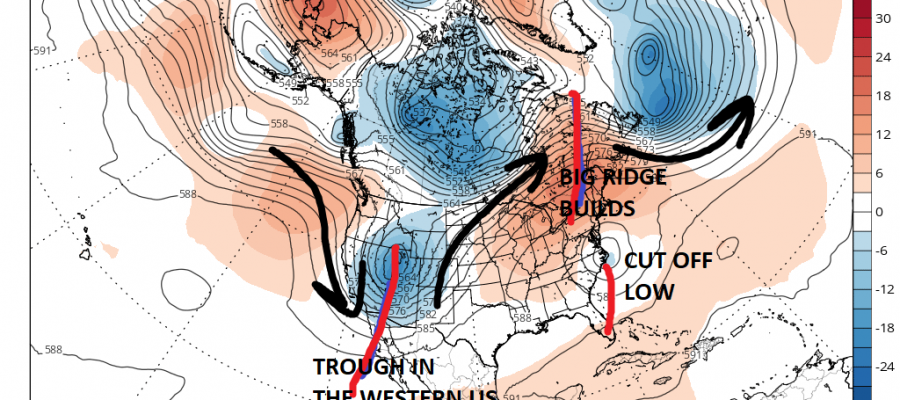 summer pattern rain moving northeast