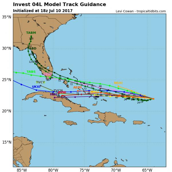 tropical depression 4