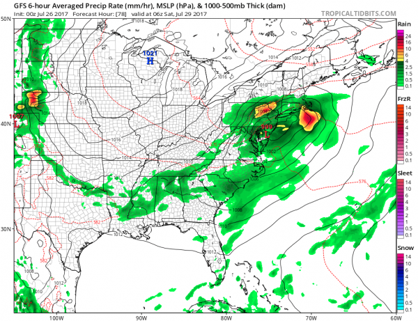 severe weather risk dry air