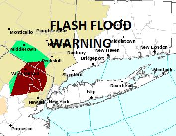 thunderstorms flash flood warning