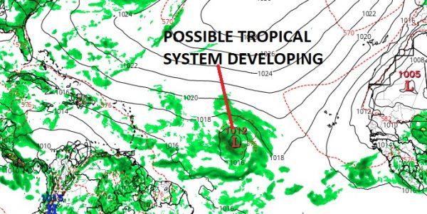 tropical activity