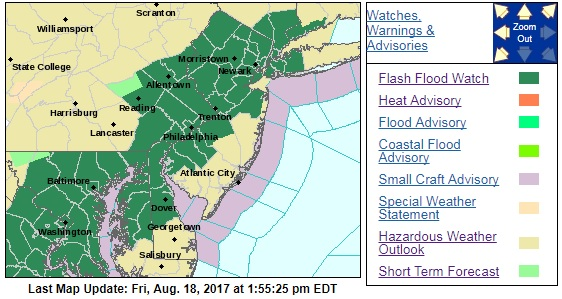 severe thunderstorm flash flood watch