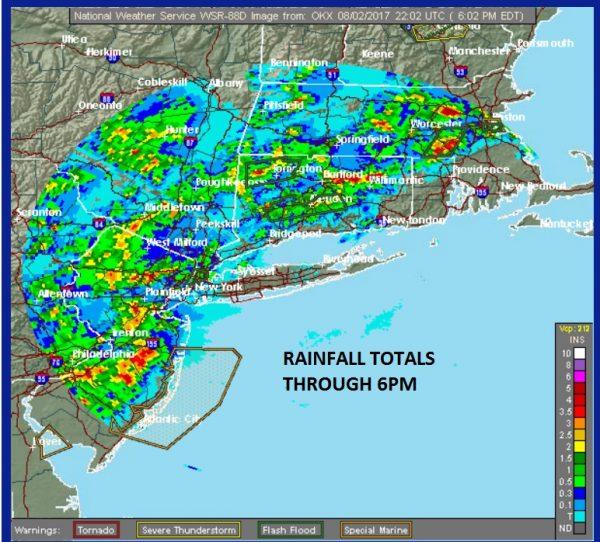 severe thunderstorm activity