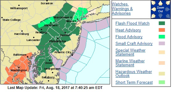 flash flood watch severe weather