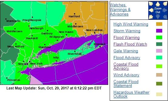 flood warnings high wind warnings