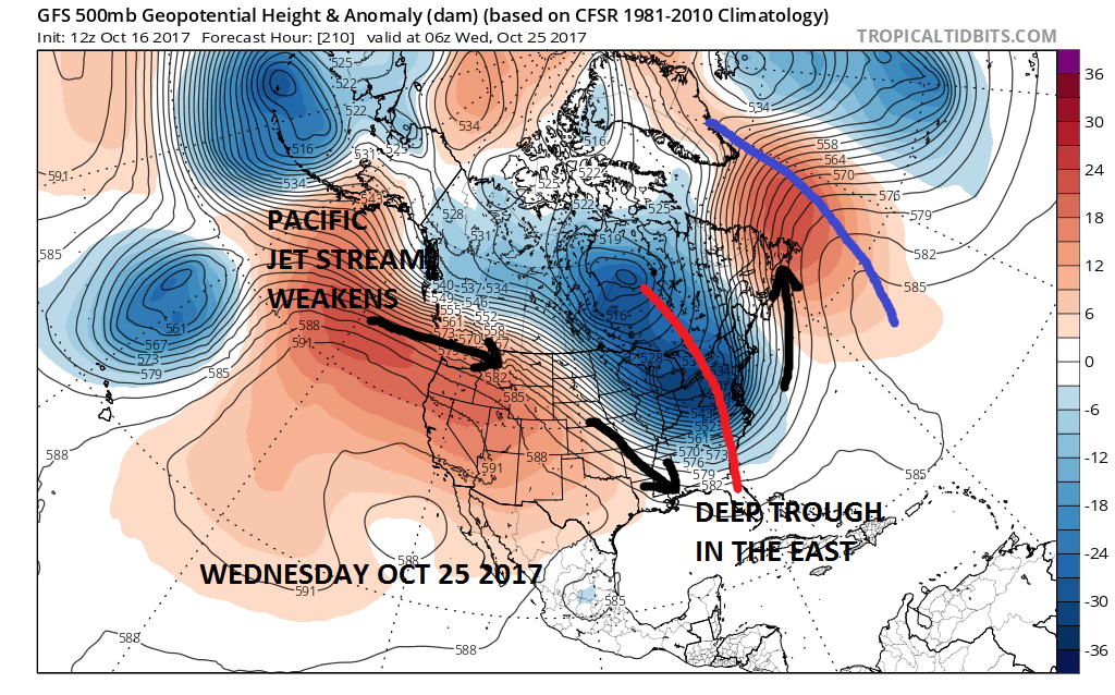 Weather Pattern Change Arrives Next Week Weather Updates By - Us weather map for next week