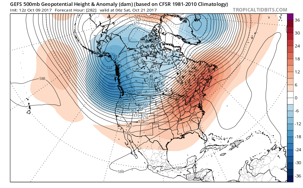 LONG RANGE WEATHER PATTERN SHOWS NO CHANGE THIS WEEK Weather - Map Of Long Term Weather Across The Us