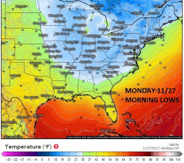seasonal upper air pattern