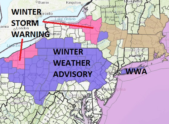 winter weather advisory snow