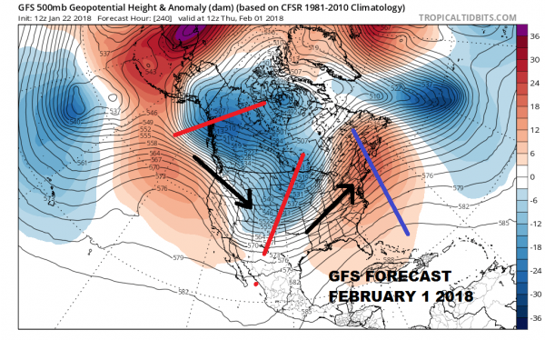 weather models winter weather pattern