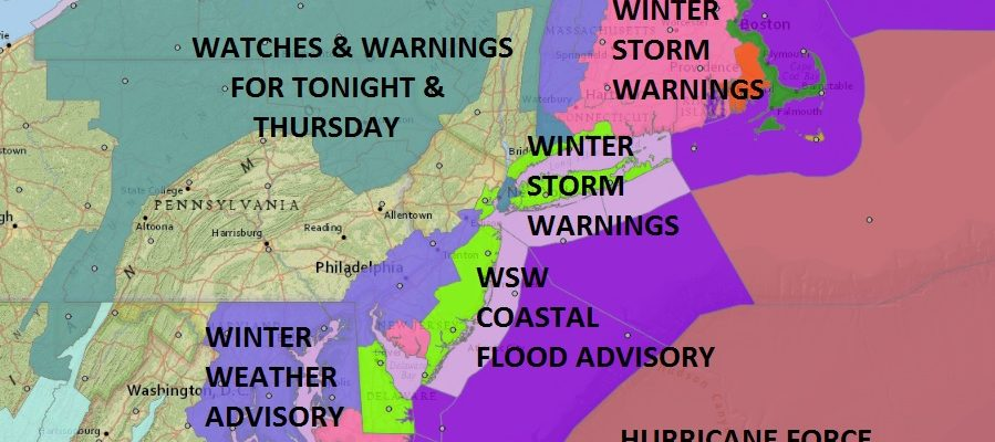winter storm warnings