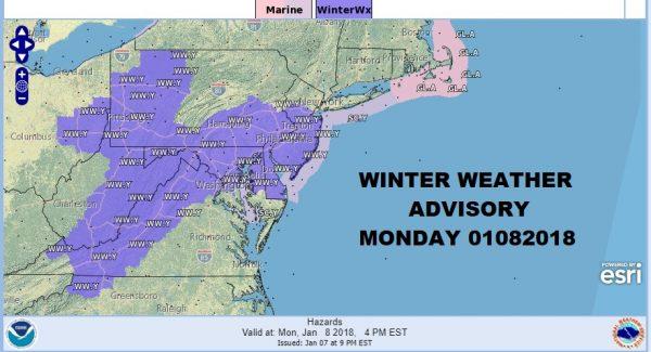 snow ice forecast