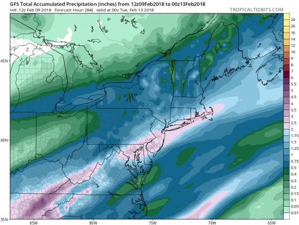 Snow Showers Moving Northeast Rainy Weekend Ahead