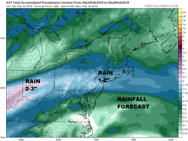 Rain Moving Eastward More Rain Into Sunday
