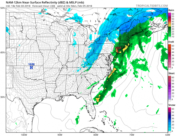 Snow Forecasts Super Bowl Sunday 02030208 Updated