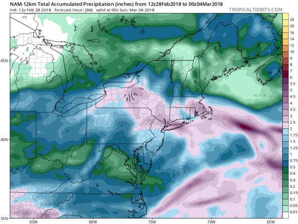 Major Storm Rain Snow Coastal Flooding Winds Friday into Saturday AM