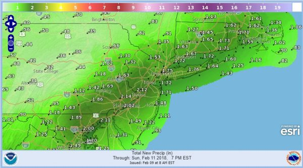 Weekend Cloudy Rain Lasting Into Monday Afternoon