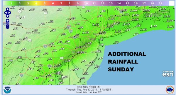 Flood Watch Continues New Jersey Heavy Rains Flooding Likely