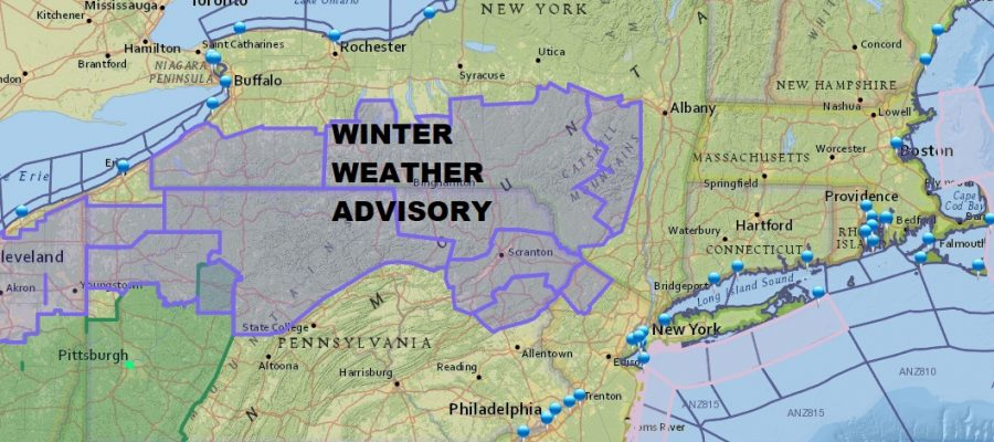 WINTER WEATHER ADVISORY ICE ACCUMULATION FORECAST