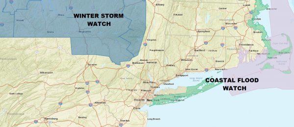 Coastal Flood Watch Long Island Noreaster Looms Friday Saturday