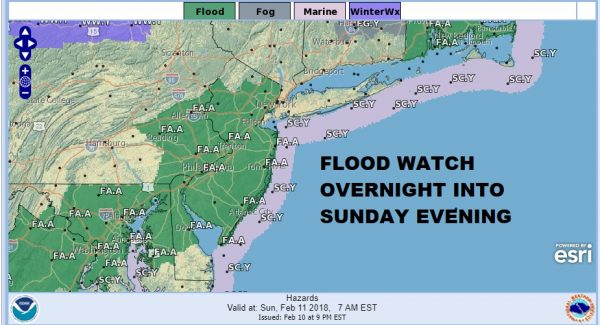Heavy Rain Overnight Sunday Slow Improvement Monday