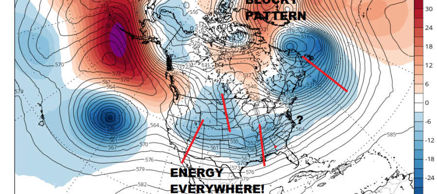 Complex Storm System Means Uncertainty Very High
