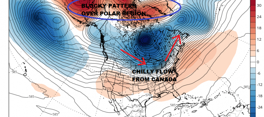 Passover Easter Long Range Snow Chances Warmer Air Coming