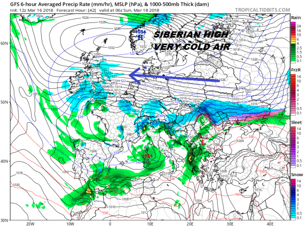 Saint Patrick's Day #Beastfromtheeast #Foureaster Outlook
