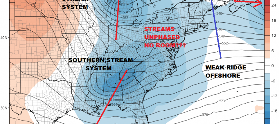 Next Coastal Storm Looks Offshore For Now