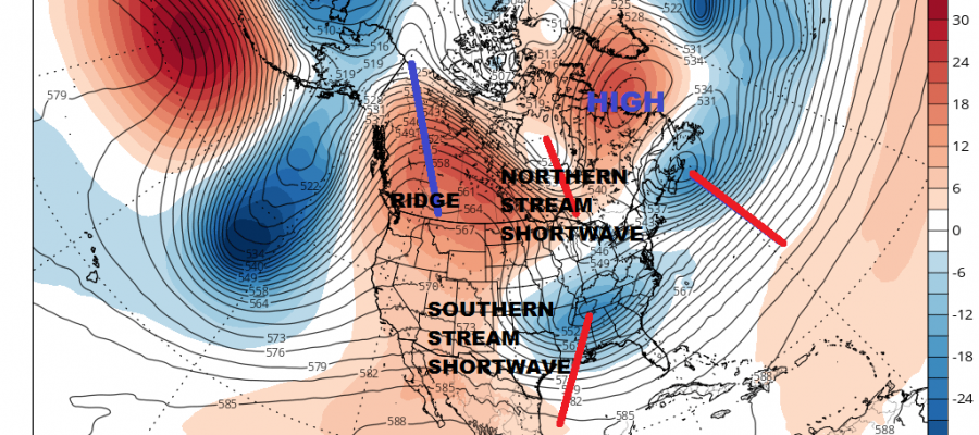 Third System Early Next Week Looks South (For Now)