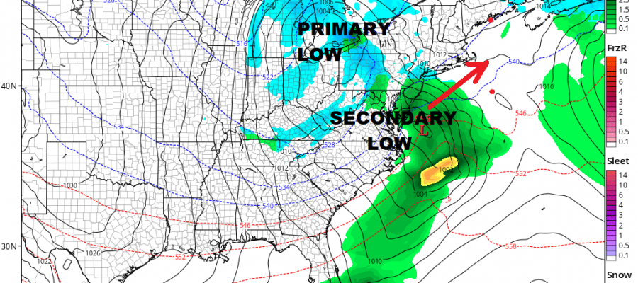 Next Storm System Heading East Late Tuesday Wednesday