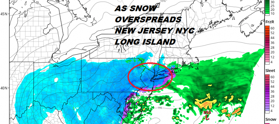 National Weather Service Snow Forecasts Winter Storm Warning Continues