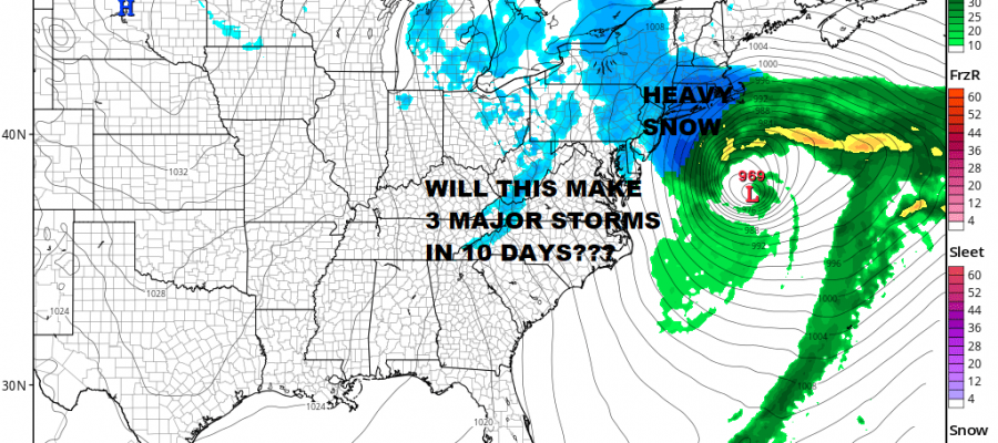 National Weather Service First Call Snow Forecast Maps Monday Night Tuesday