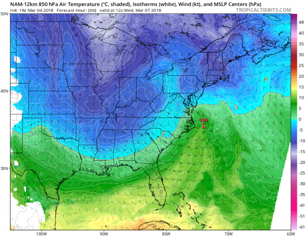 Another Coastal Storm In A Colder Atmosphere