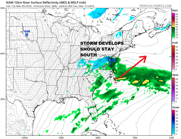 Snow Showers Around Nice Weekend & Outlook For Next Storm