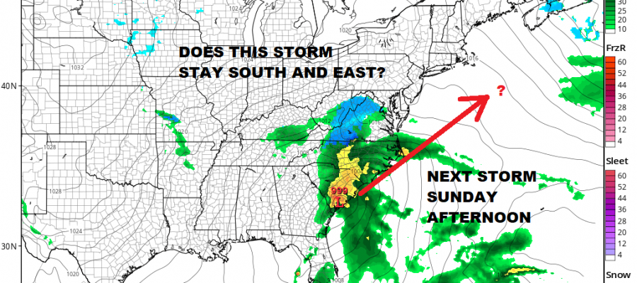 Noreaster 2 Ends Next Storm Approaches Early Next Week