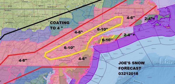 Winter Storm Warnings Philadelphia NYC Boston Watch Baltimore Washington DC