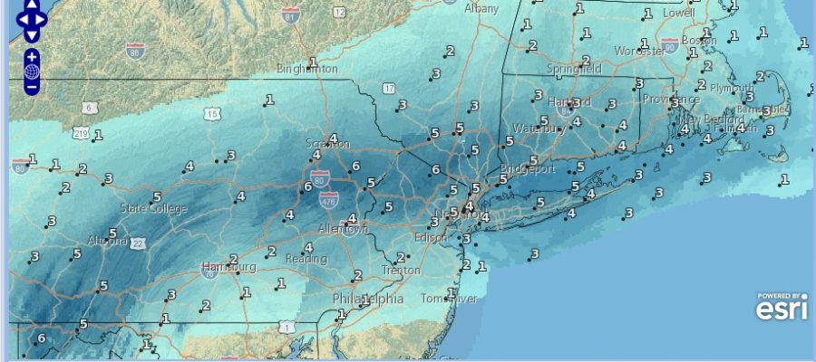 Winter Weather Advisory Continues This Morning Snow 3 to 6 Inches