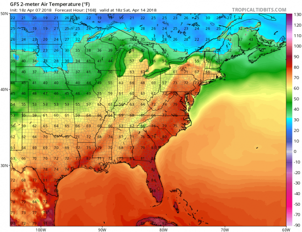 Some Sunshine Cold Sunday Week Ahead Outlook
