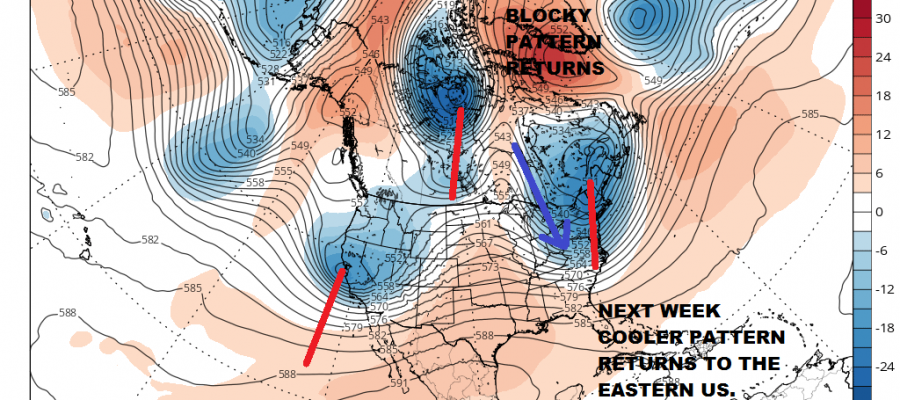 Spring Weather Volatility Continues Next Week Cool Pattern Ahead