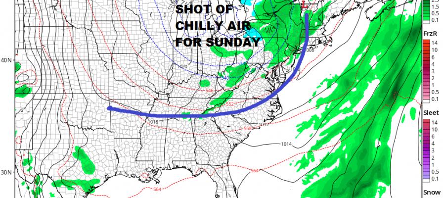 Sun Returns Thursday Rain Friday Weekend Forecast