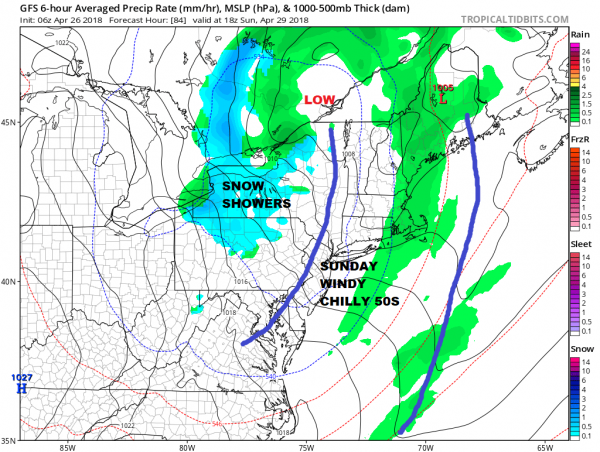 Drying Thursday, Rain Friday, Weekend Forecast
