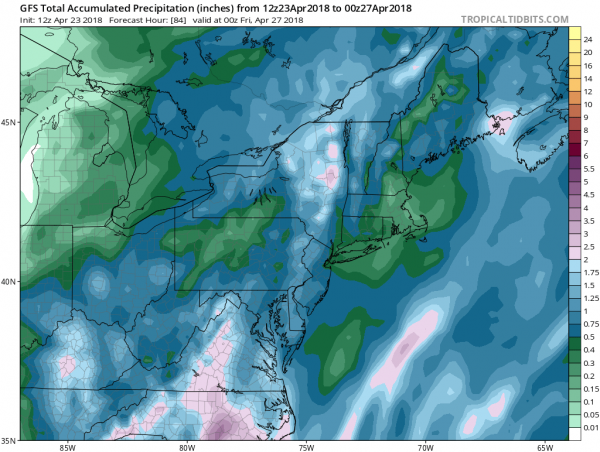 Rain Arrives Late Tuesday Continues Wednesday