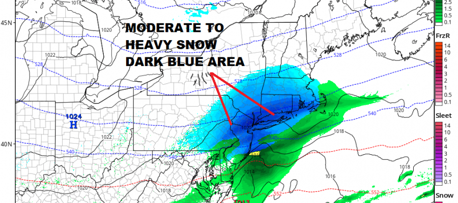 HIGH RESOLUTION RGEM SNOW FORECAST