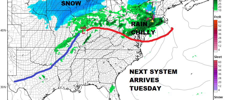 Snow 3 to 6 Inches Gradually Ends Cold Rain Tuesday Showers Warmer Wednesday