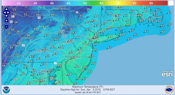 Weekend Storm Off The Table Showers Overnight Cold Weekend